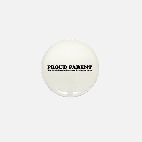 Proud Parent Mini Button