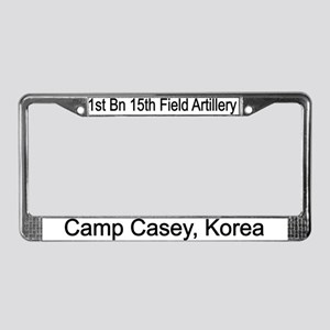 1st Bn 15th Field Artillery License Plate Frame
