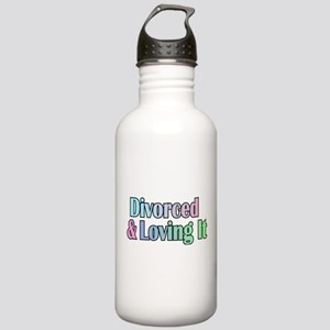 divorced and loving it Stainless Water Bottle 1.0L