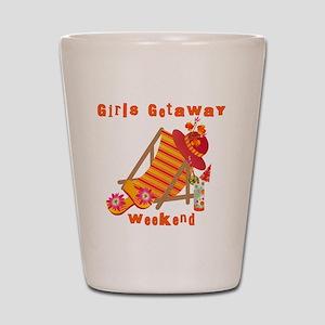 Girls Getaway Weekend Shot Glass