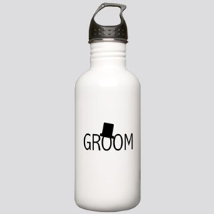 Top Hat Groom Stainless Water Bottle 1.0L