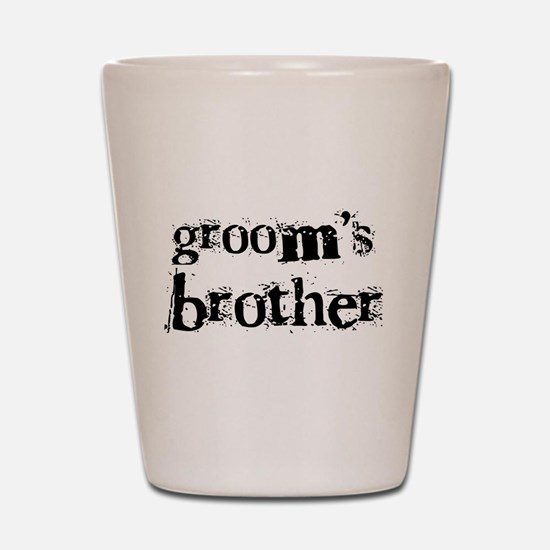 Groom's Brother Shot Glass