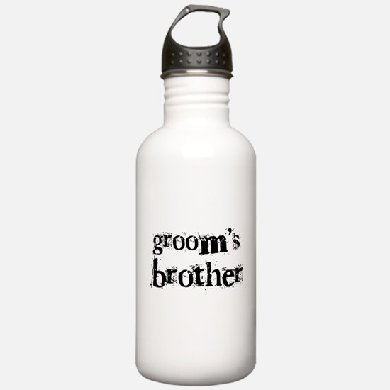 Groom's Brother Sports Water Bottle