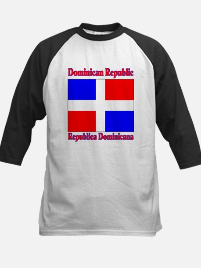 Republica Dominica Kids Baseball Jersey