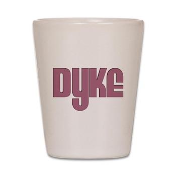 Pink Dyke Shot Glass