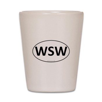 WSW Euro Oval Shot Glass