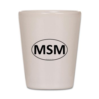 MSM Euro Oval Shot Glass
