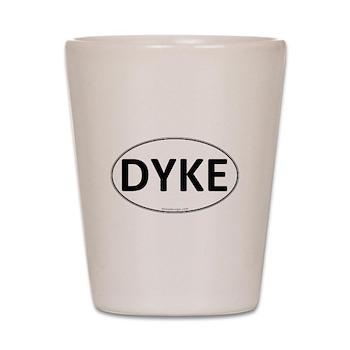 DYKE Euro Oval Shot Glass