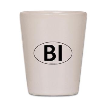 BI Euro Oval Shot Glass