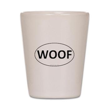 WOOF Euro Oval Shot Glass