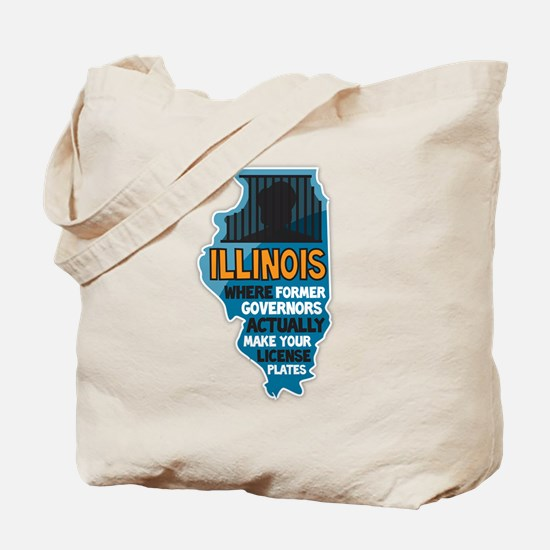 Illinois Governors Tote Bag