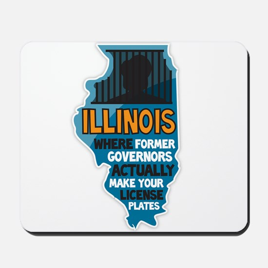 Illinois Governors Mousepad