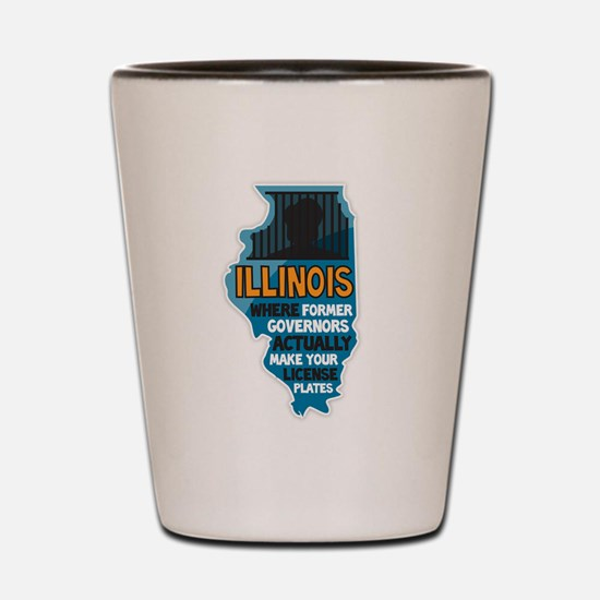 Illinois Governors Shot Glass