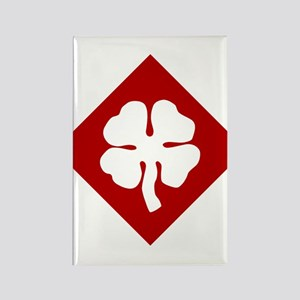4th Army Rectangle Magnet