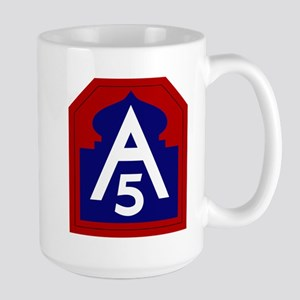 5th Army Large Mug