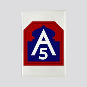 5th Army Rectangle Magnet