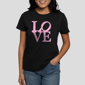 Pink LOVE Design T-Shirt
