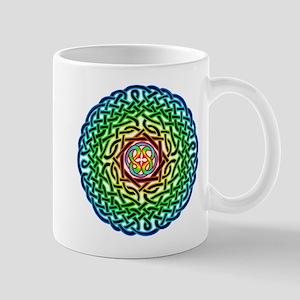 Rainbow Celtic Knot Mug