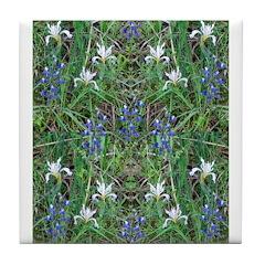 Flower Photo Tile Coaster
