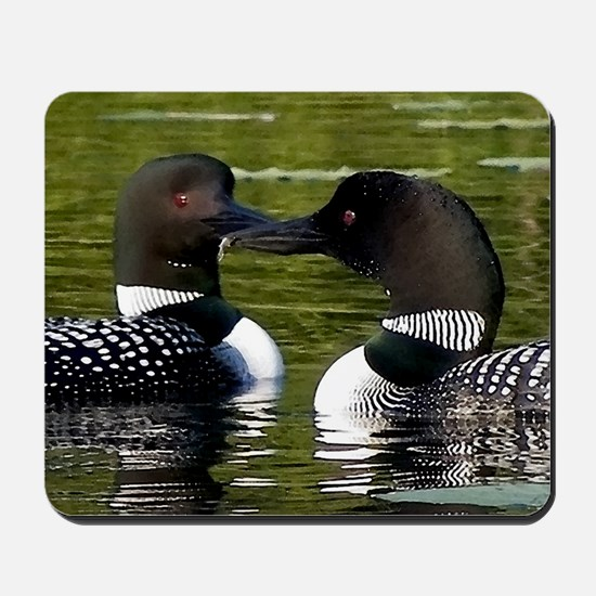 Loon Watercolor Mousepad