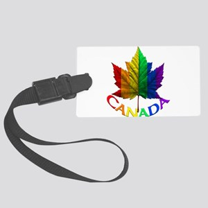 Canada Gay Pride Souvenir Large Luggage Tag