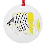 Atoll Butterflyfish Ornament