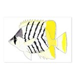 Atoll Butterflyfish Postcards (Package of 8)