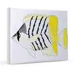 Atoll Butterflyfish 20x24 Canvas Print