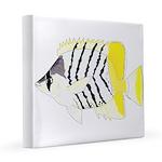 Atoll Butterflyfish 12x12 Canvas Print