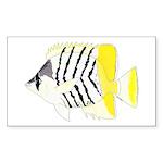 Atoll Butterflyfish Sticker