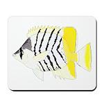 Atoll Butterflyfish Mousepad