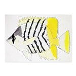 Atoll Butterflyfish 5'x7' Area Rug