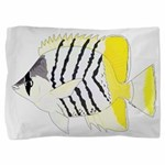 Atoll Butterflyfish Pillow Sham