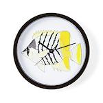 Atoll Butterflyfish Wall Clock