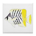 Atoll Butterflyfish Tile Coaster