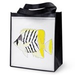 Atoll Butterflyfish Reusable Grocery Tote Bag