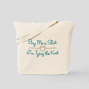 Heart Knot Shot Tote Bag