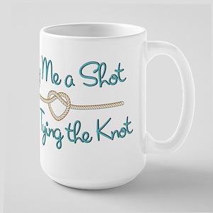 Heart Knot Shot Large Mug