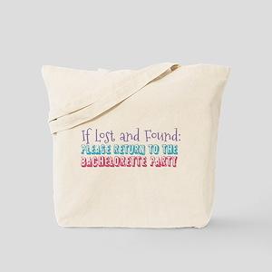 Lost & Found Bachelorette Tote Bag