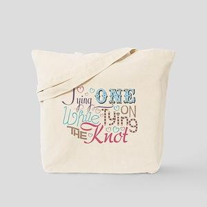 Bachelorette Tying One On Tote Bag