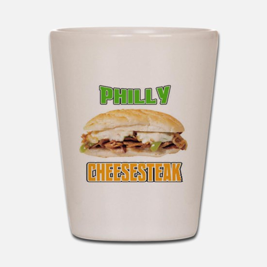 Philly CheeseSteak Shot Glass