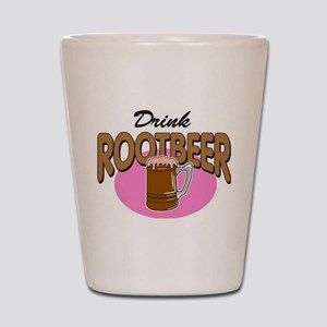 Drink RootBeer Shot Glass