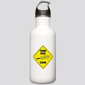 Corn Dog Zone Stainless Water Bottle 1.0L