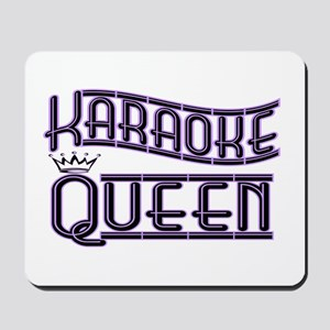 """Karaoke Queen"" Mousepad"