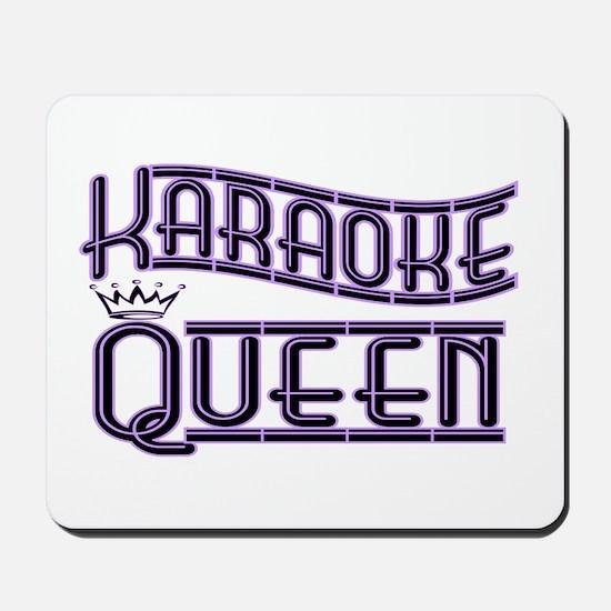 """Karaoke Queen"" Mousepad"