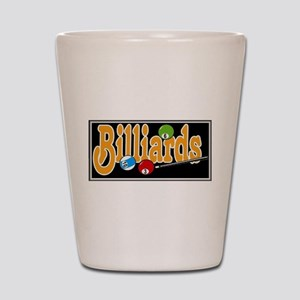 Billiards Shot Glass