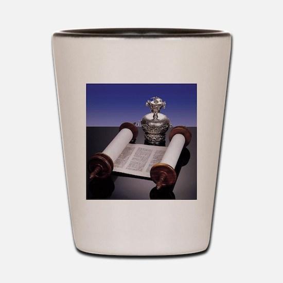 Torah Crown Shot Glass