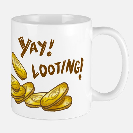 Yay! Looting! Mug