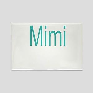 Bold Mimi Rectangle Magnet