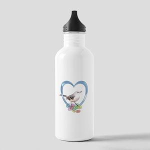 Mockingbird in Heart Stainless Water Bottle 1.0L